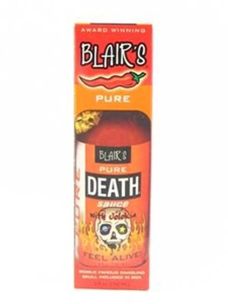 Blair's Pure Death Hot Sauce with Jolokia