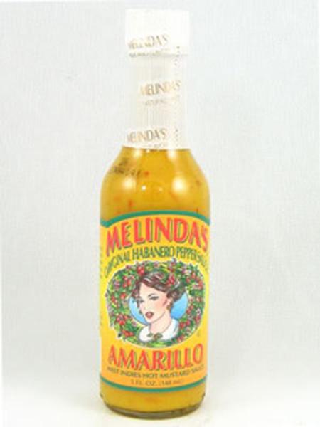 Melinda's Amarillo Hot Mustard Pepper Sauce