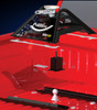 Fitted in the truck Pullrite 2600 SuperLite 5th Wheel hitch for Goose-Neck Ball