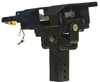 Bottom view of Demco 8550044 RECON 21K 5th Wheel Hitch with Rails