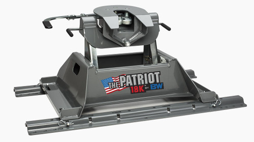 B+W 3255 18K Patriot 5th Wheel Hitch, USA Made