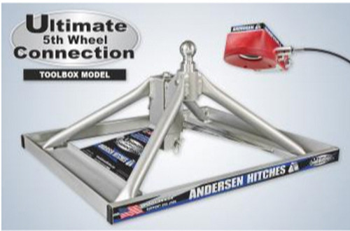 Andersen 3220 TBX Toolbox Aluminum Ultimate 5th Wheel to Goose-neck Hitch