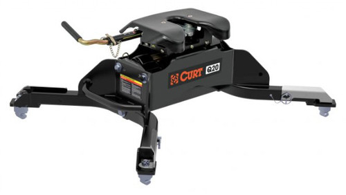 New Curt 20K  Q20 5TH WHEEL HITCH WITH RAM PUCK SYSTEM LEGS