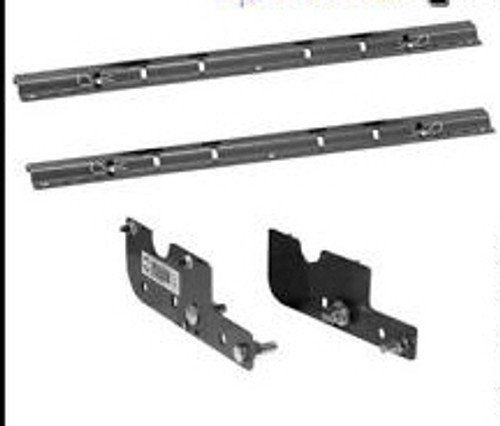 BW RVK2502 Custom 5th Wheel Hitch Mounting Rail Kit 16-19 Chevy GMC 2500+3500