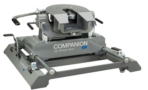 B+W Companion RVK 3775 For 2020+ newer GM OEM Slider 5th Wheel Hitch