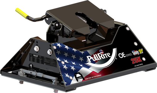 PullRite 1400 25K Super 5th Wheel Hitch Ford OEM Puck System