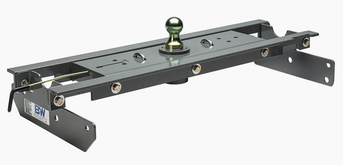 B+W GNRK1121 Turnoverball Gooseneck Hitch for 2021 Ford F-150 - Excludes Raptor