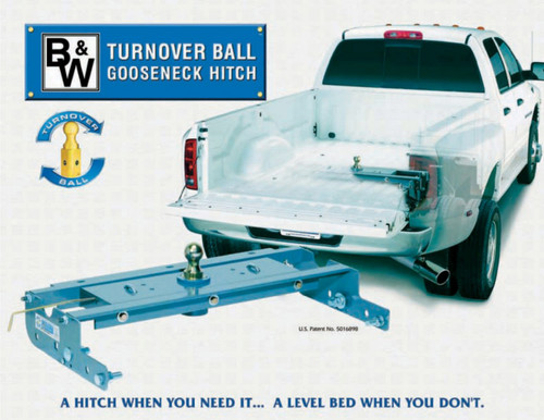 Turnover Ball Gooseneck Hitch Flyer