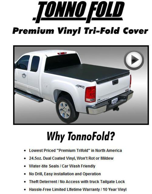 Premium Vinyl Tri-Fold Cover Flyer