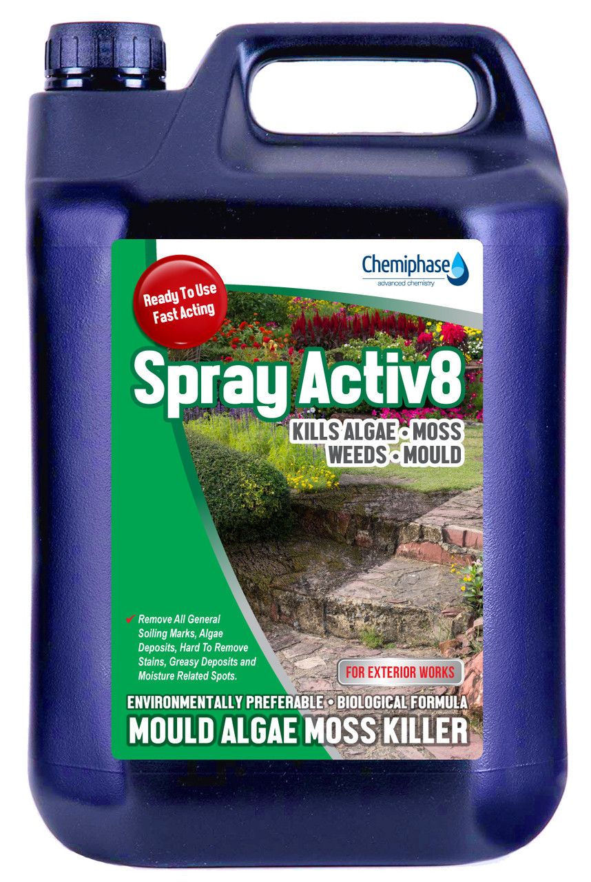How to get rid of Moss | Patio Cleaner | Moss Killer for Paths