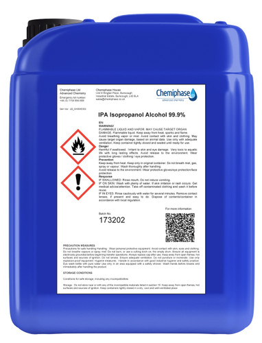 Isopropyl - Buy Online Isopropanol in Drum or IBC Containers