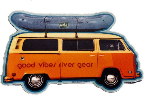 Good Vibes Side Bus Sticker