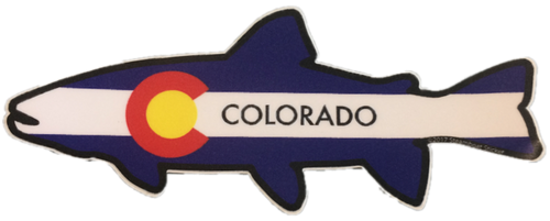 Colorado Fish Sticker