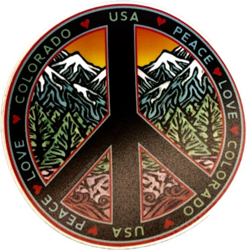 Colorado Peace Sticker