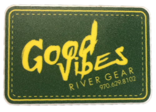 Good Vibes Green Sticker Small