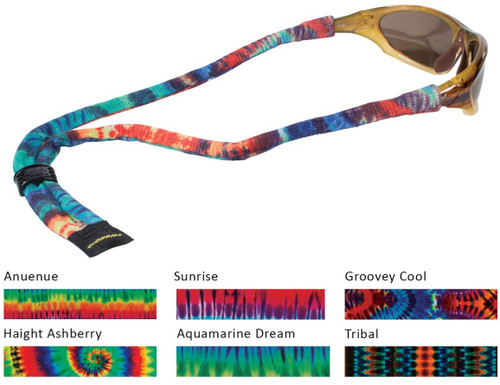 Croakies Suiters Tie-dye Eyewear Retainer