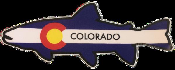 Colorado Fish Sticker