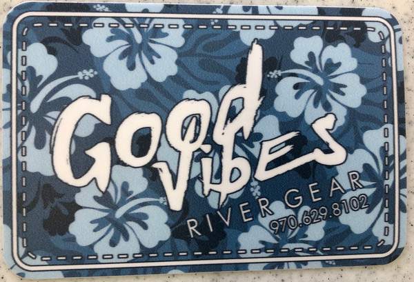 Good Vibes Flower Sticker