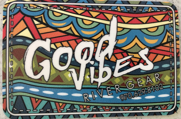Good Vibes Design Sticker
