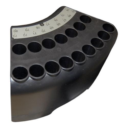 Sample Rack 16x10mL, Pos.E, for HTA