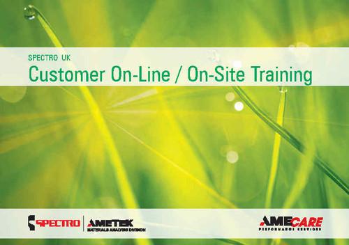 SPECTRO Customer Training