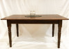 "Reclaimed Wood Farm Table Reclaimed Wood Farm Table with two 15"" leaf extensions"