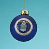 Glass U.S. Air Force Ball Ornament