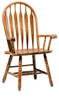 Colonial Windsor Bowback Arm Chair