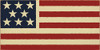 Wood Sign - American Flag