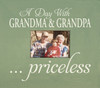 Wood Picture Frame - A Day With Grandma & Grandpa Priceless