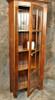 Rustic Reclaimed Wood 8 Pane Glass Door Cupboard 32L x 12D x 78H