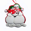 Our First Christmas Snowman Personalized Ornament