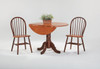 "Windsor Dowel Chairs with 42"" Dropleaf Table"