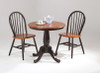 """30"""" Round Bistro Table with Windsor Dowel Back Chairs"""