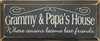 [Custom Grandparents]'s House Where Cousins Become Best Friends Wood SignGrammy & Papa's House