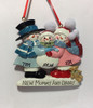 New Mommy And Daddy Personalized Ornament Personalization Example