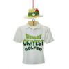 World's Okayest Golfer Ornament Personalized