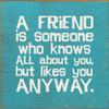 friends sign sign for friends gift for friends showing friends you care