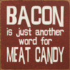 gift ideas for mom kitchen decoration funny signs funny sayings clever signs clever sayings i love bacon  funny bacon sign  bacon lover  gift for bacon lover  bacon gift