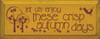 Let Us Enjoy These Crisp Autumn Days Wood Sign