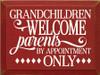 CUSTOM Grandchildren Welcome 12x9