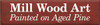 CUSTOM Examples Of What We Frame, Mill Wood Art, Maps Of The World 9x36