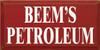 CUSTOM Beem's Petroleum 9x18