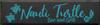 CUSTOM Nauti Turtle Bar and Grill 9x36