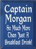 CUSTOM Captain Morgan 9x12