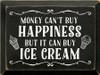 CUSTOM Money Can't Buy Happiness 9x12