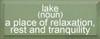 CUSTOM Lake (Noun) 7x18 Wood Sign