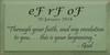 Custom Wood Painted Sign CUSTOM eF rF oF 18x9