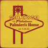 Custom Wood Painted Sign CUSTOM Palmieri's Home 7x7 Wood Sign