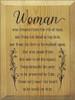 CUSTOM Woman Was Created... 9x12 #3